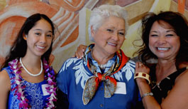 Distinctive Women in Hawaii, 2009 Program
